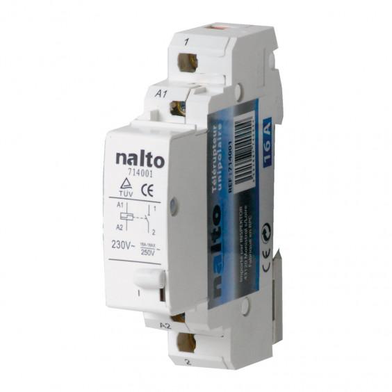 Télérupteur électromécanique 16A 1NO monophasé