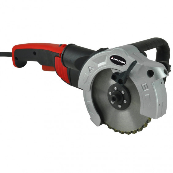 Scie double lame 860W 125mm  Multi-matériaux