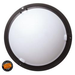 Hublot plastique extérieur LED SMD - Noir