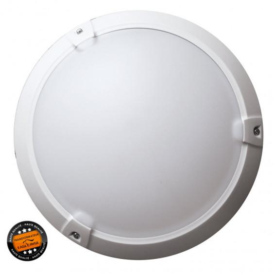 Hublot LED Extérieur Rond 15W 4500K IP65 Blanc WOLTZ