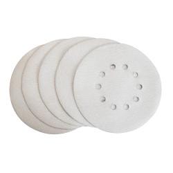 Lot de 5 disques abrasifs blanc Ø225mm G80 pour 2350006, 235020 et 235021
