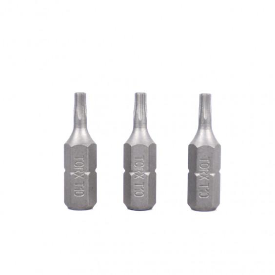 Lot de 3 embouts T10X25mm