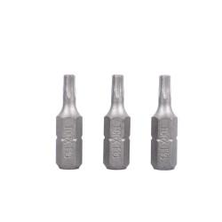 Lot de 3 embouts T15X25mm
