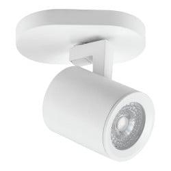spot simple blanc 8w gu10 sans ampoule
