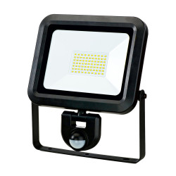 PROJECTEUR LED EXTRA PLAT 50W+DETECTEUR+CABLE 50CM