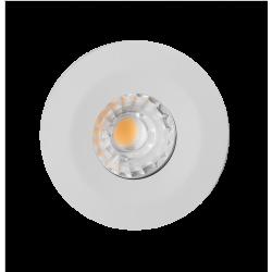 Spot à encastrer LED COB 10W  étanche IP65 blanc