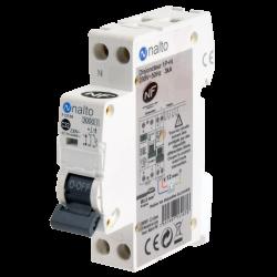Disjoncteur à vis 32A - 1P+N - 3kA