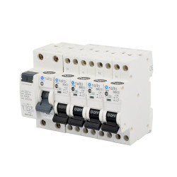 Kit Composition Coffret Electrique Piscine Monophasé - Interrupteur Différentiel et Disjoncteur - NALTO