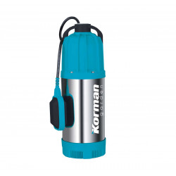 Pompe submersible multicellulaire inox 1000W pour eaux claires