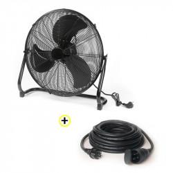 Ventilateur Brasseur d'Air + Rallonge 10m