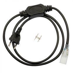 Cordon d'alimentation pour ruban LED 7W/m 14mm